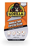 Gorilla Crystal Clear Duct Tape, 1.88' x 9 yd, Clear, (Pack of 1)