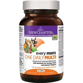 New Chapter Every One Daily, Multivitamin Fermented with Probiotics + B Vitamins + Vitamin D3 + Organic Non-GMO Ingredients