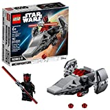 LEGO Star Wars Sith Infiltrator Microfighter 75224 Building Kit (92 Pieces)