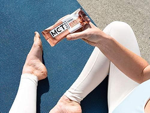 MCTBar Cocoa Keto Protein Bar | 0g Added Sugar, 2-3g Net Carbs, 10g Protein, 7g Fiber | Grass Fed Collagen (24 Pack) 7