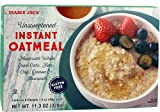 Trader Joe's Instant Oatmeal. 11.3 OZ (Pack of 1)