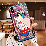 Maxlight Lovely Cartoon Dumbo Phone Case for iPhone Xs Max XR 8 7 Plus Reliefs Monsters Case Back Cover Coque Capa (Style1, for iPhone Xs Max)
