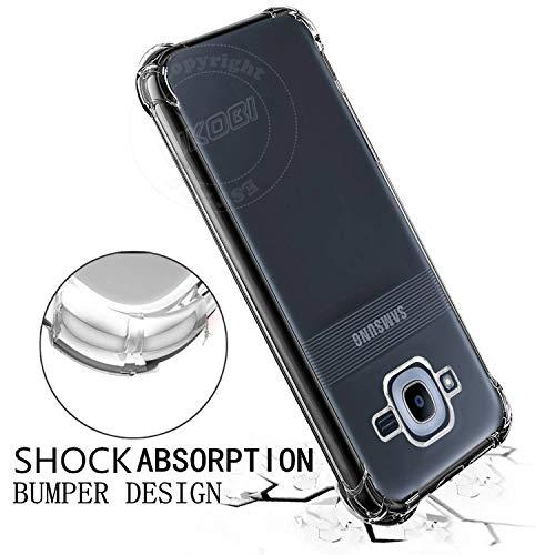 Jkobi Silicone Back Case for Samsung Galaxy J2 Pro -Transparent 4