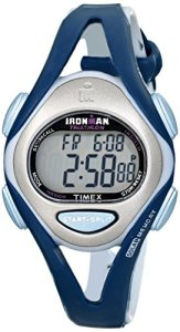 Timex Women's T5K451 Ironman Sleek 50 Mid-Size Dark Blue/Gray Resin Strap Watch