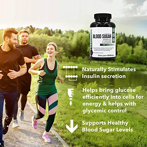Blood Sugar Wellness Complex, Premium Blend of Herbs for Healthy Blood Sugar Level, Weight Loss & Heart Health - Gymnema Sylvestre, Bitter Melon, Banaba - Unbroken Intention 6