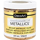 DecoArt Ameri Deco MTLC Americana Decor Metallics 8oz 24K Gold