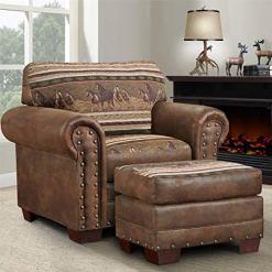 American Furniture Classics 4-Piece Wild Horses Sofa