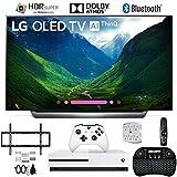 LG OLED65C8PUA 65' C8 OLED 4K AI Smart TV with Xbox One S 1TB and Wall Mount Bundle