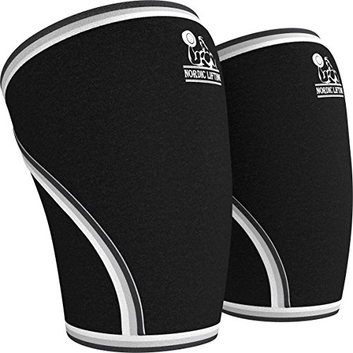 Knee Sleeves (1 Pair) Support & Compression for...