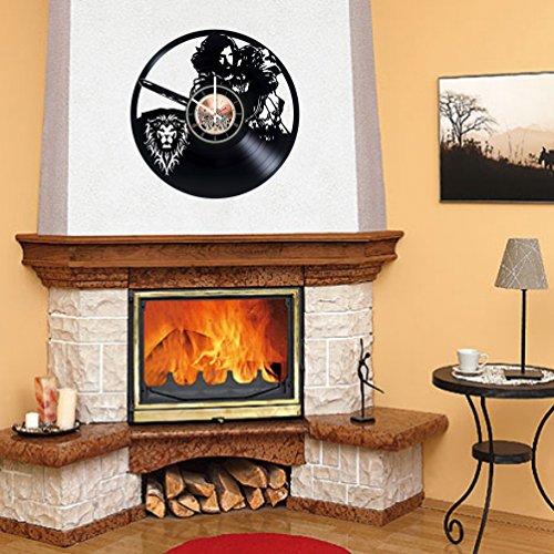 World or Warcraft Legion Vinyl Record Wall Clock - Bedroom or Living ...