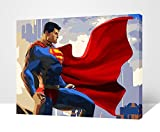 "Paint By Number 16"" X 20"" Kit (Framed) Super Man"