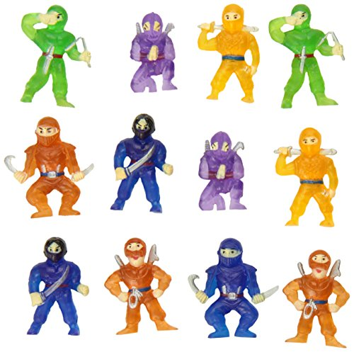 Rhode Island Novelty Ninja Figurines (Set of 12)