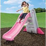 Step2 Big Folding Slide, Pink, Plastic Slide and High-Side Rails