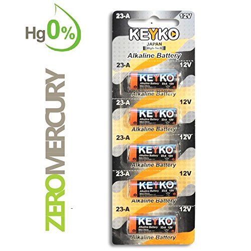 A23 Battery 12v Alkaline Genuine Keyko Kt 23a Type A23s Mn21