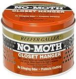 Reefer-Galler NO MOTH Closet Hanger Kills Clothes Moths, Carpet Beetles, and Eggs and Larvae