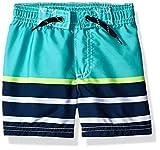 Carter's Baby Boys Swim Trunk, Turquoise Stripe, 18 Months