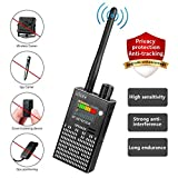 CaGuan Anti-Spy Wireless RF Signal Detector Set [2019 Latest Upgrade] Bug GPS Camera Signal Detector,for Hidden Camera GSM Listening Device GPS Radar Radio Scanner Wireless Signal Device Finder