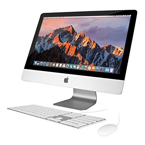 Apple iMac 21.5in 2.7GHz Core i5 (ME086LL/A) All In One Desktop, 8GB Memory, 1TB Hard Drive, MacOS 10.12 Sierra (Renewed)