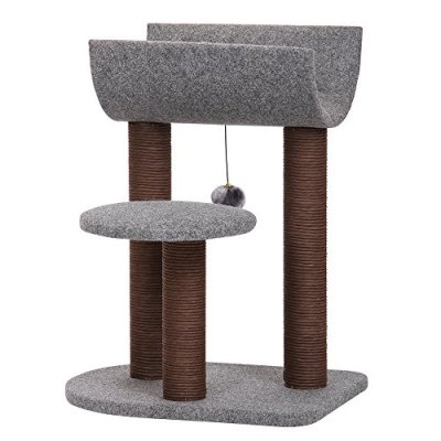 PetPals Cat Tree Cat Tower for Cat Activity with Scratching Postsand...