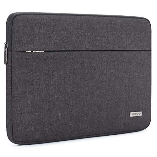 NIDOO 12.5 Inch Laptop Sleeve Case Computer Bag Protective Cover for New 13' MacBook Pro Touch Bar/13 MacBook Air with Retina/Lenovo Yoga 720/13.9' Huawei MateBook X Pro/12.5' Notebook, Dark Grey
