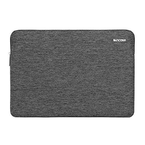 Incase CL60684 Slim Sleeve Durable 300D Heathered Weave Ecoya Eco-Dyed Poly Case for MacBook Pro Retina 13in - Heather Black