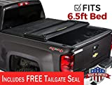 Gator ETX Soft Tri-Fold Truck Bed Tonneau Cover | 59110 | Chevy Silverado/GMC Sierra 6.5' bed, 2014-18, 2019 Limited/Legacy  | MADE IN THE USA