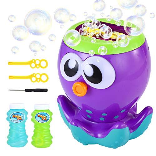 LUKAT Bubble Machine for Kids Automatic Bubble Maker with 1000+ Bubbles per Minute, Bubble Blower for Party, Outdoor & Indoor Games, Best Bubble Toys and Gifts for Boys and Girls