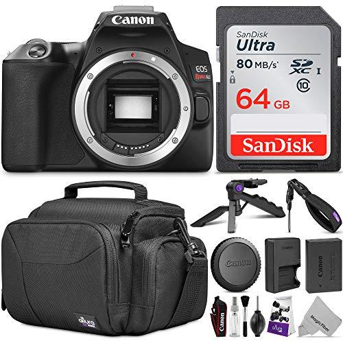 Canon EOS Rebel SL3 DSLR Camera Body w/Advanced Photo & Travel Bundle