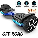 Gyroor T581 Hoverboard 6.5' Off Road All Terrain Hoverboard with Bluetooth Speaker and LED Lights Two-Wheel...