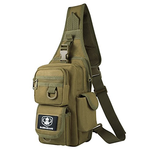 Barbarians Tactical Sling Bag Pack with...