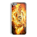 Stephen Curry Fire for iPhone and Samsung Galaxy Case (iPhone 5/5s white)