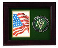 US Army Medallion Portrait Picture Frame