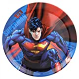 Zrike 4011960 Warner Brothers Melamine Sets Superman Character Plate, Pack Of 4