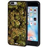 iPhone 7 Plus Case,iPhone 8 Plus Case,AIRWEE Slim Anti-Scratch Shockproof Silicone TPU Back Protective Cover Case for Apple iPhone 7 Plus/8 Plus 5.5',Marijuana Kush Weed