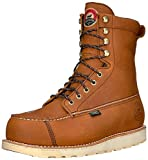 Irish Setter Men's Wingshooter Safety Toe 8' Work Boot, Brown, 10.5 D US