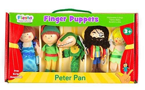 Tellatale Peter Pan Finger Puppet Set by Tellatale
