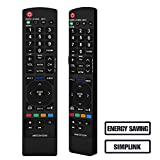 Gvirtue Remote Control Compatible Replacement for LG AKB72915239 Remote - 22LV2500, 26LV2500, 32LK330, 32LK450, 32LK450, 32LV2500, 32LV3400, 32LV3500, 37LK450, 37LV3500, 42LK450, 42LK451