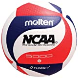 Molten FLISTATEC Volleyball - Official NCAA Men's Volleyball, Red/White/Blue