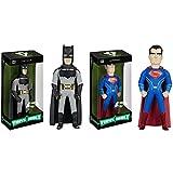 Vinyl Idolz: Batman v Superman: Batman, Superman Vinyl Figures! Set of 2