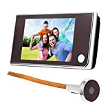 Awakingdemi 3.5 inch LCD Peephole Viewer Door Eye Doorbell Color IR Camera