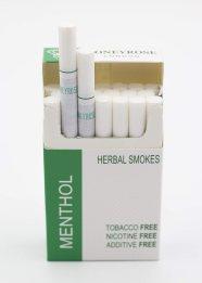 Honeyrose MENTHOL Tobacco & Nicotine Free Herbal Sticks