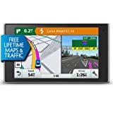 Garmin DriveLuxe 50 NA LMTHD GPS Navigator System with Lifetime Maps and Traffic, Smart Notifications, Voice Activation, Driver Alerts & a Sleek Metal Design(Renewed)