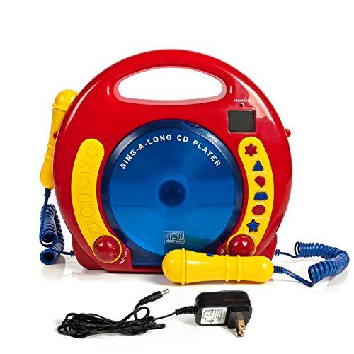 IQ Toys Portable Sing Along CD/USB/SD Player Anti...