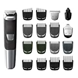Philips Norelco Multigroom All-In-One Trimmer Series 5000 With 18Piece, No blade oil Needed, MG5750/49