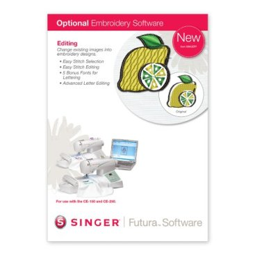 SINGER Futura Advanced Editing Software for CE-150 and CE-250
