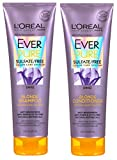 L'Oreal Paris EverPure Blonde with Iris, Shampoo and Conditioner Set, 8.5 Fluid Ounce Each