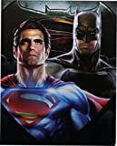 Batman v Superman Dawn of Justice Silky Soft Throw, 2016