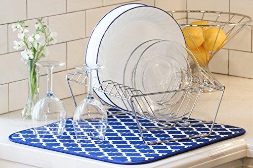 Are Microfiber Dish Drying Mats Better Than A Dish Rack Culinarylore Com