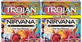 Nirvana Collection Variety Pack Condoms, 2 Boxes (24 Condoms)