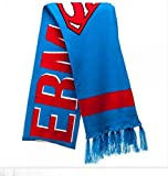 DC Comics Superman Logo Jacquard Knit Winter Scarf